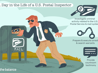 A day in the life of a U.S. postal inspector: Investigate criminal activity related to the U.S. Postal Service and mail system, prepare and execute arrest and search warrants, provide courtroom testimony