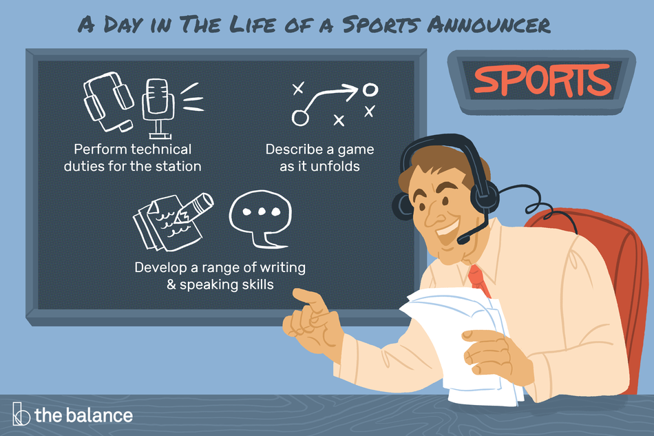 Day in the Life of a Sports Announcer
