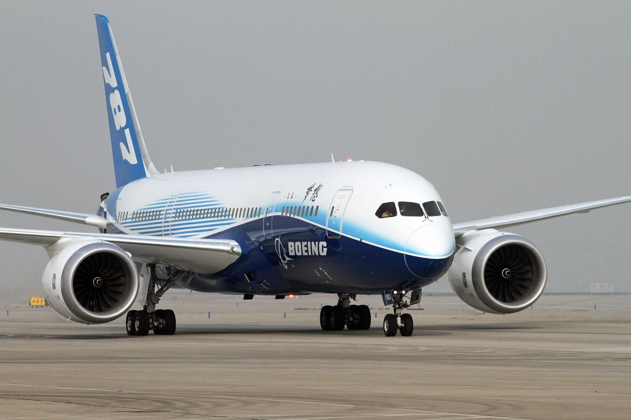Boeing 787 Dreamliner - Wingspan and Info