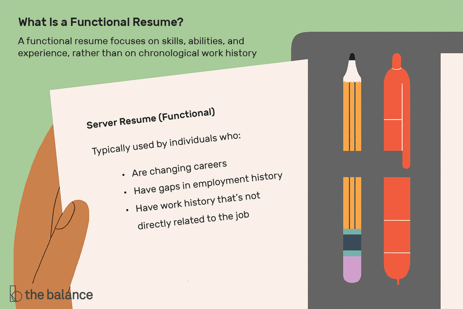 what is a functional resume
