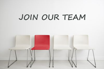 chair background concept recruitment hire hiring interview