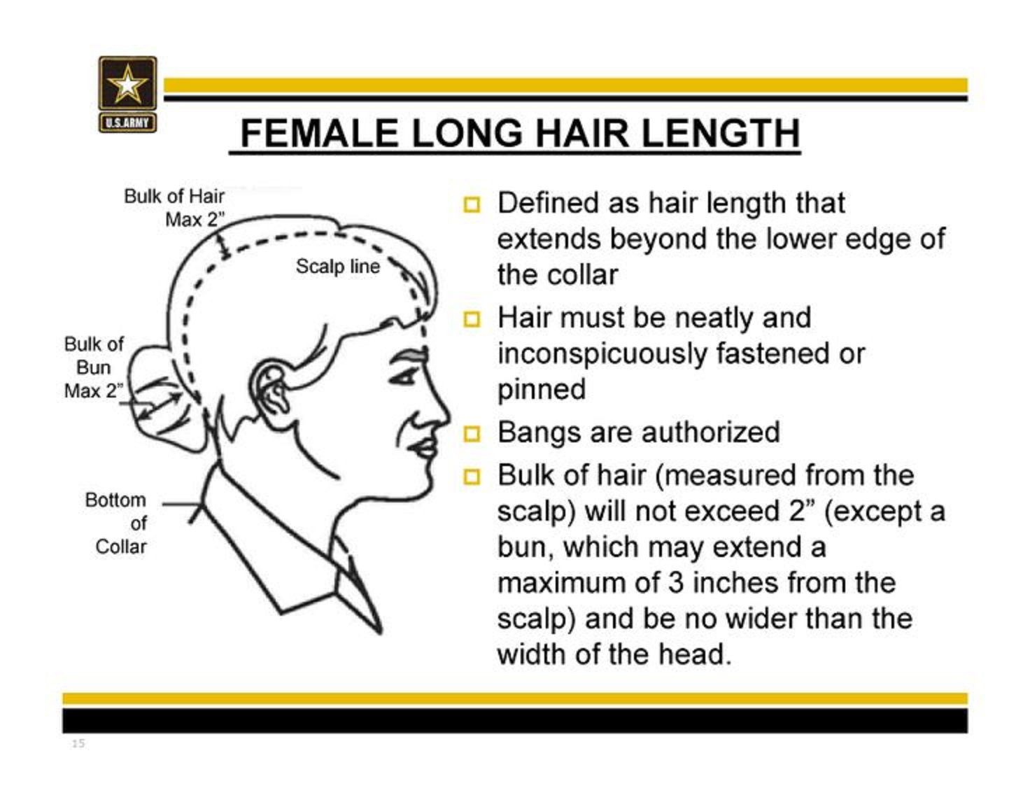 Army Female Hair Standards Mil