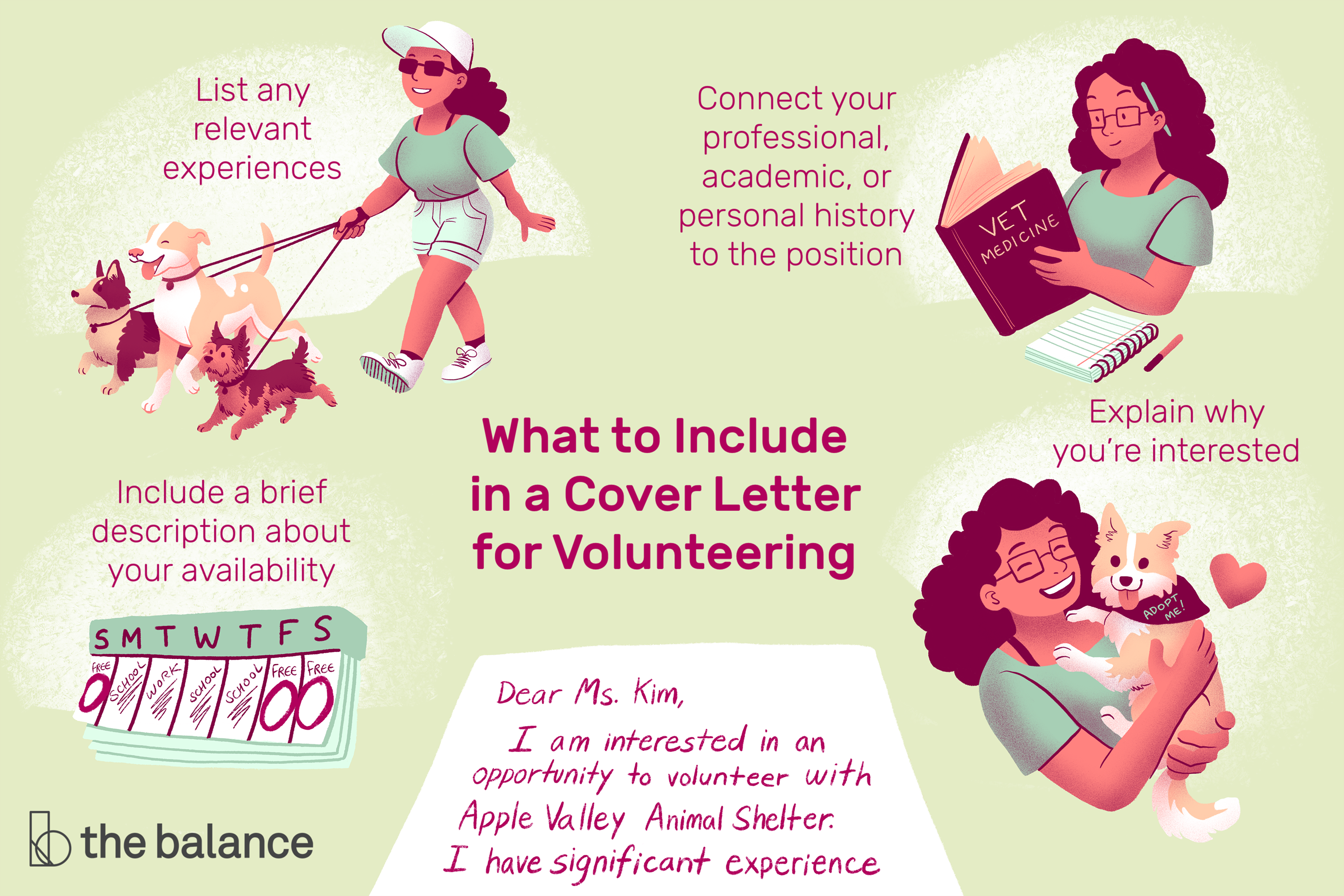 Sample Of Volunteer Letter from www.thebalancecareers.com