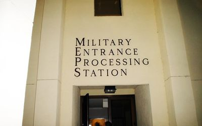 The Military Entrance Processing Experience, Step by Step