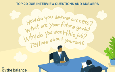 Teen Job Interview Questions, Answers, and Tips