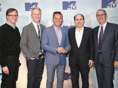 MTV upfront. Ssome of these guys started out as interns