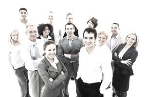 Human resources come in a wide variety of ages, nationalities, heights and are both male and female.