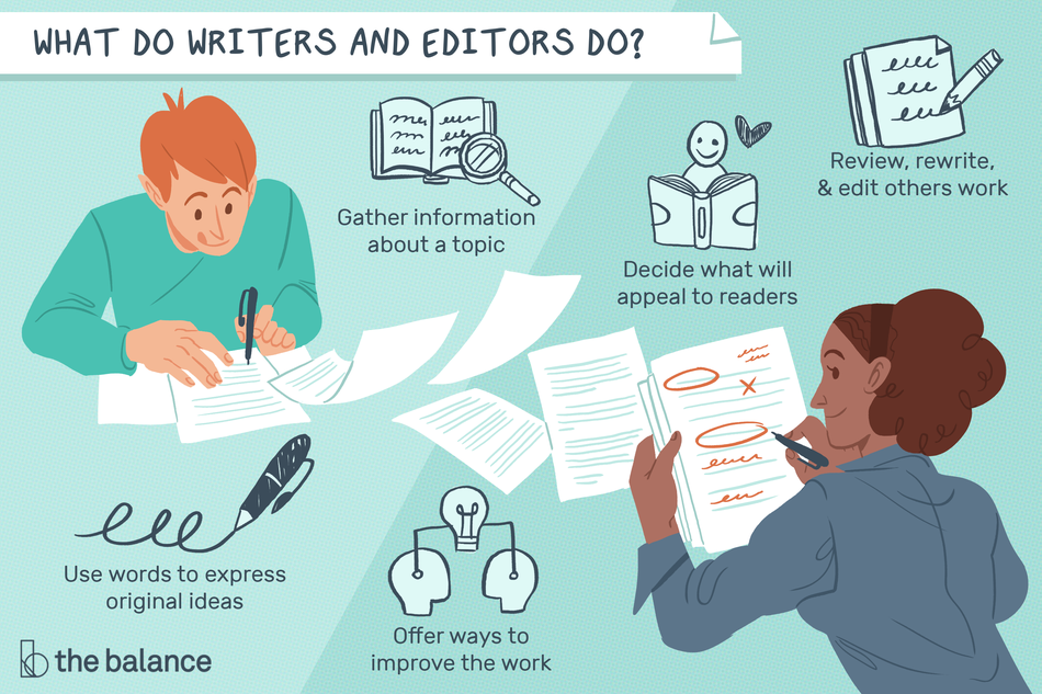What Do Writers and Editors Do?
