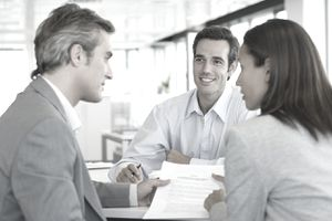 People skills are important for insurance sales agents.