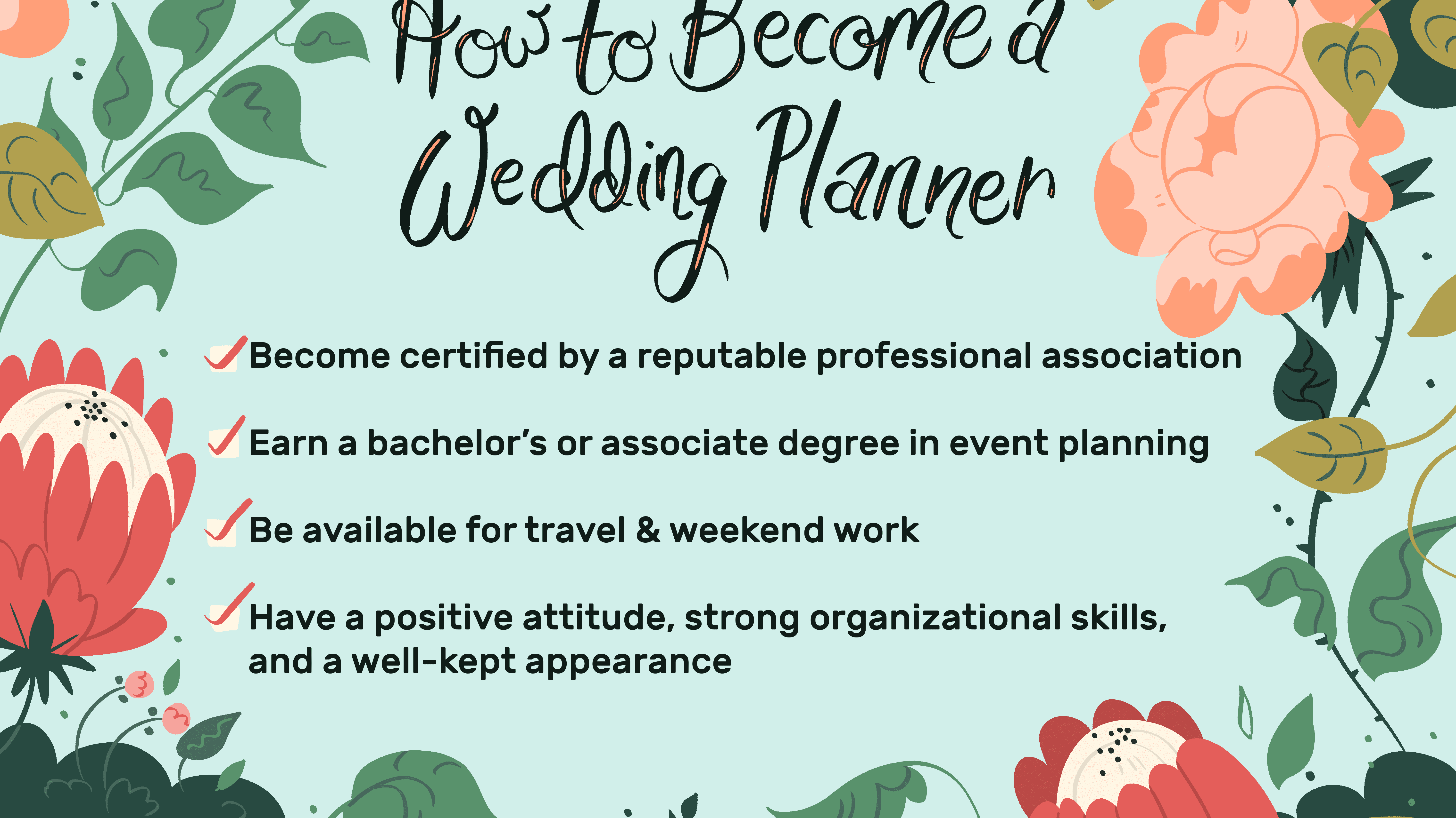 How To Start Planning A Wedding.Become A Wedding Planner