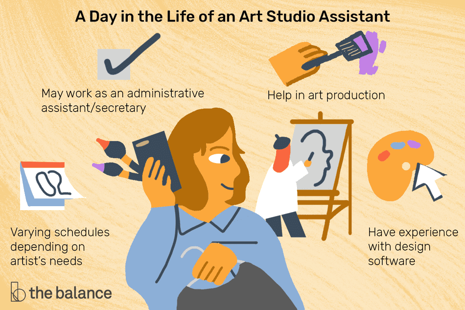 A Day in the Life of an Art Studio Assistant