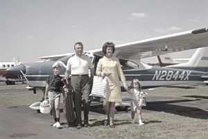 1960s FAMILY OF FOUR...