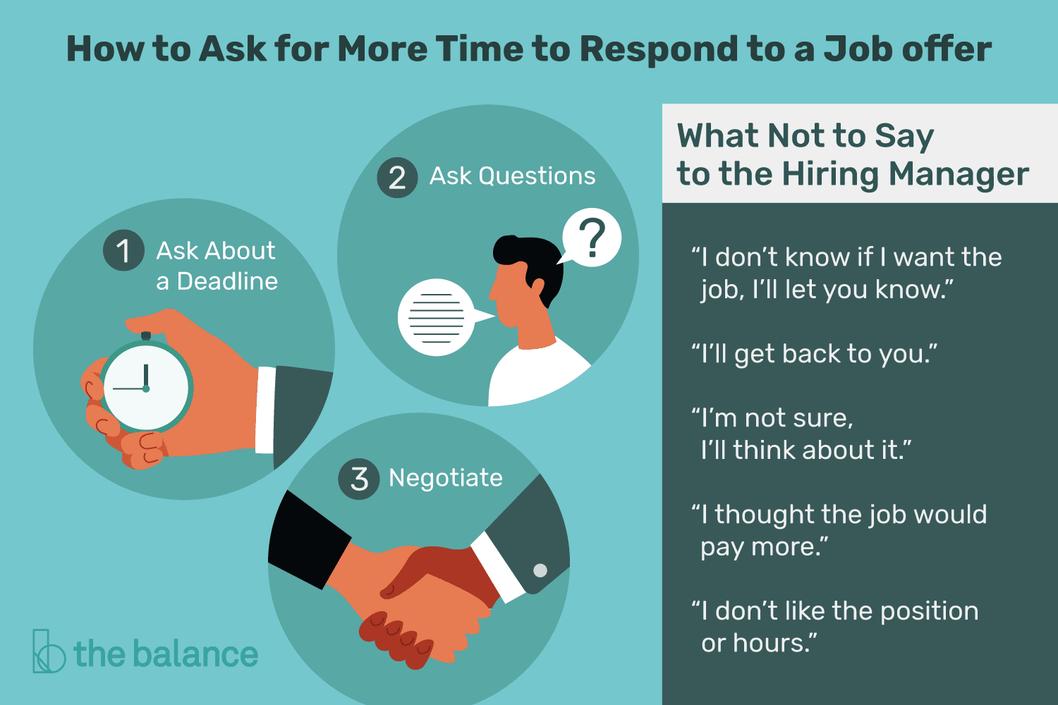 How to Ask for Time to Consider a Job Offer