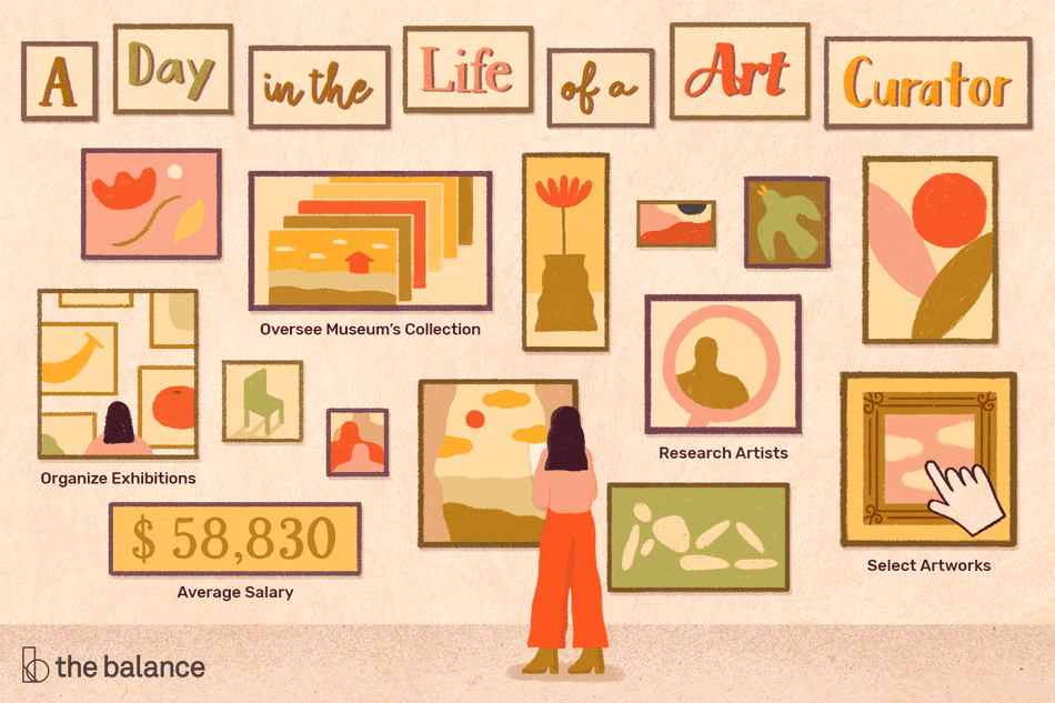 A Day in the Life of an Art Curator