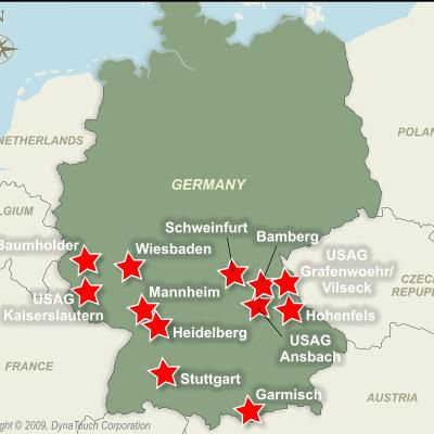 Installation Overview Us Army Garrison Heidelberg - Map-of-us-army-bases-in-germany