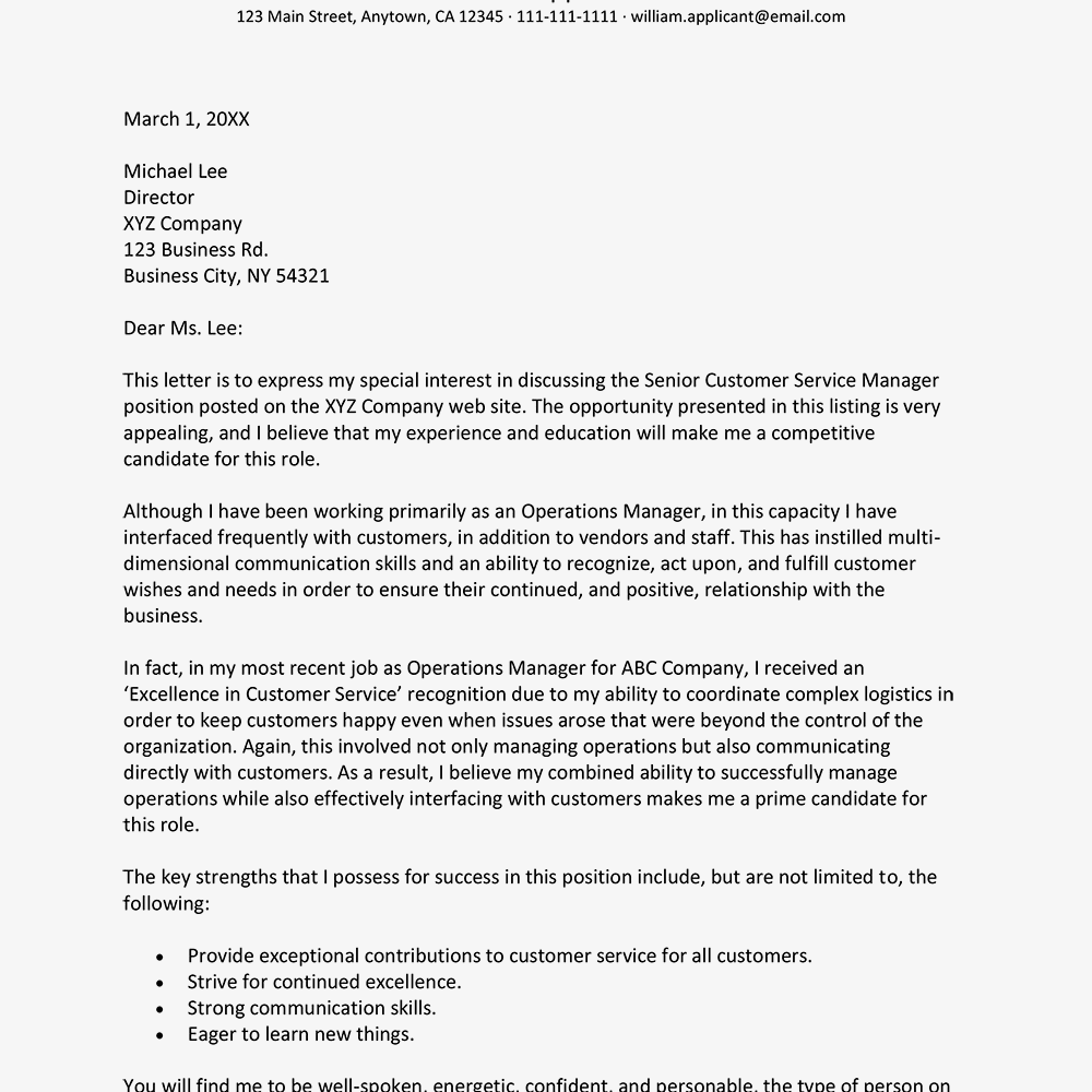 Sample career change cover letter and writing tips for Change of industry cover letter