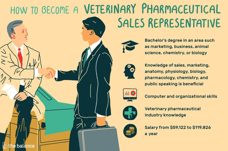 How to Become a Veterinary Pharmaceutical Sales Representative