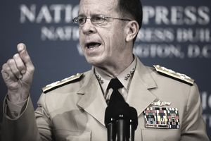 Chairman Of The Joint Chiefs of Staff Adm. Mullen Speaks On The Mid East