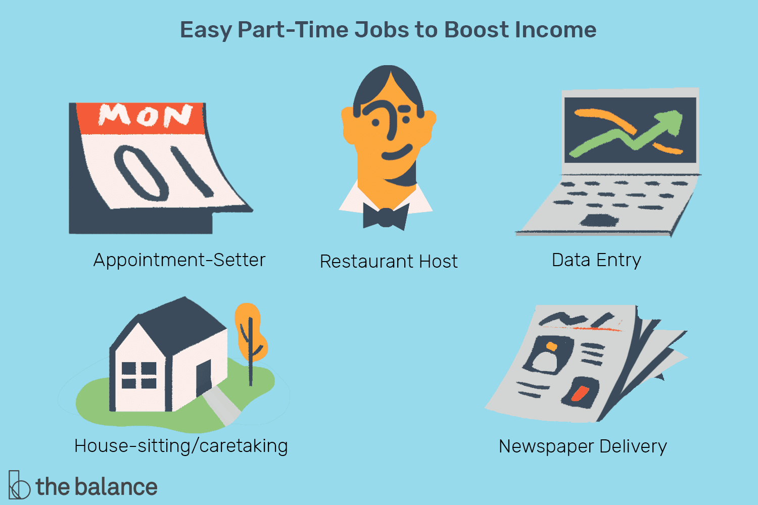 Easiest Part-Time Jobs to Boost Your Income
