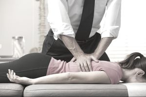 Chiropractor adjustments