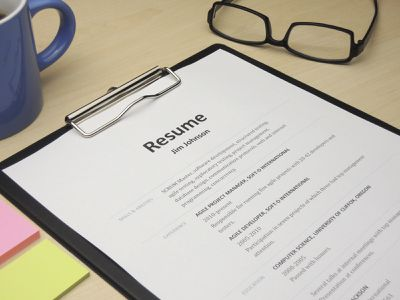 Resume Examples Listed By Style