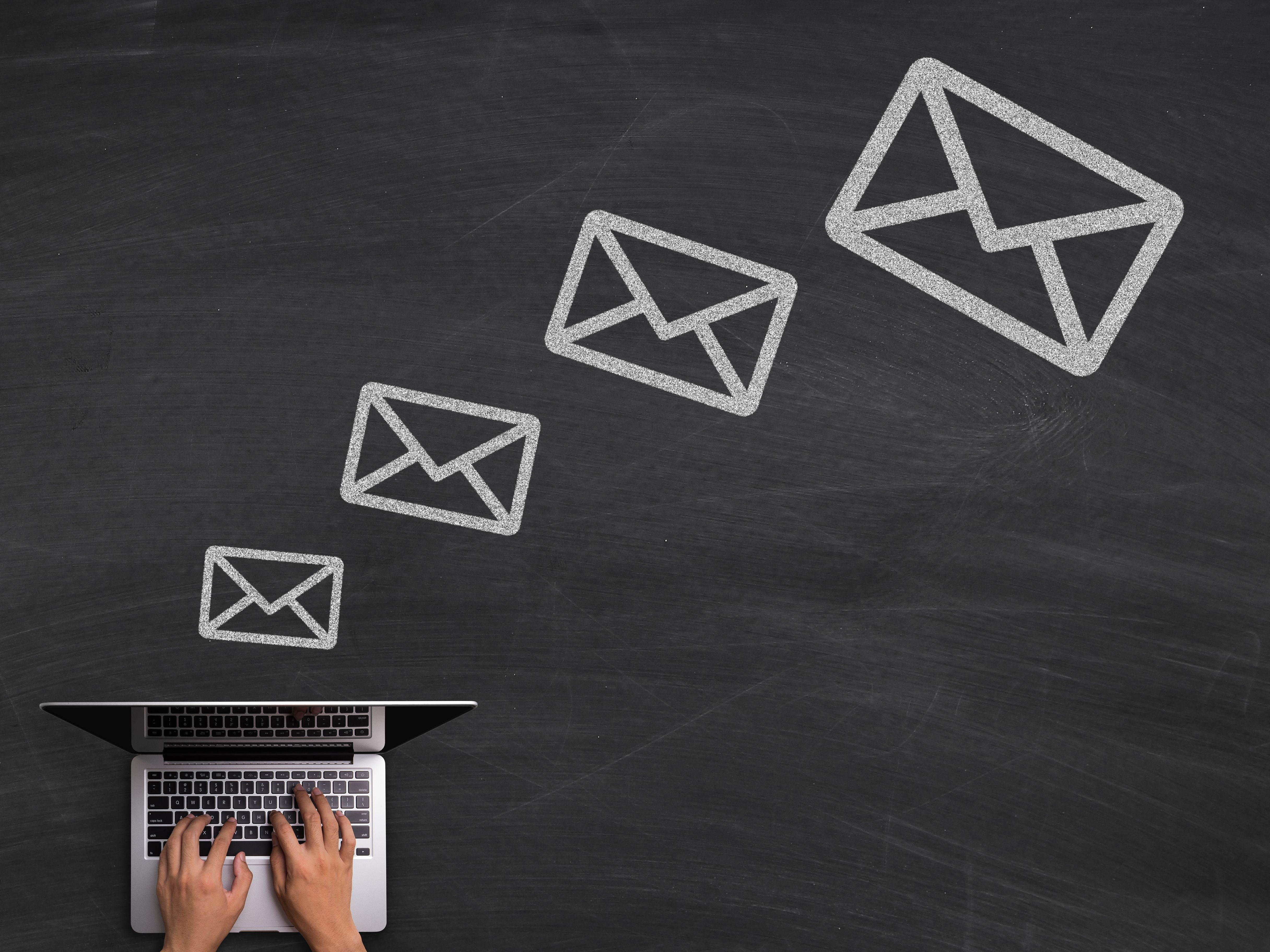 Employment-Related Email Message Examples