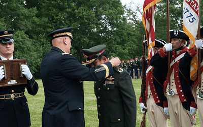 A U.S. Military Award That Is Available to Citizens of Foreign Nations