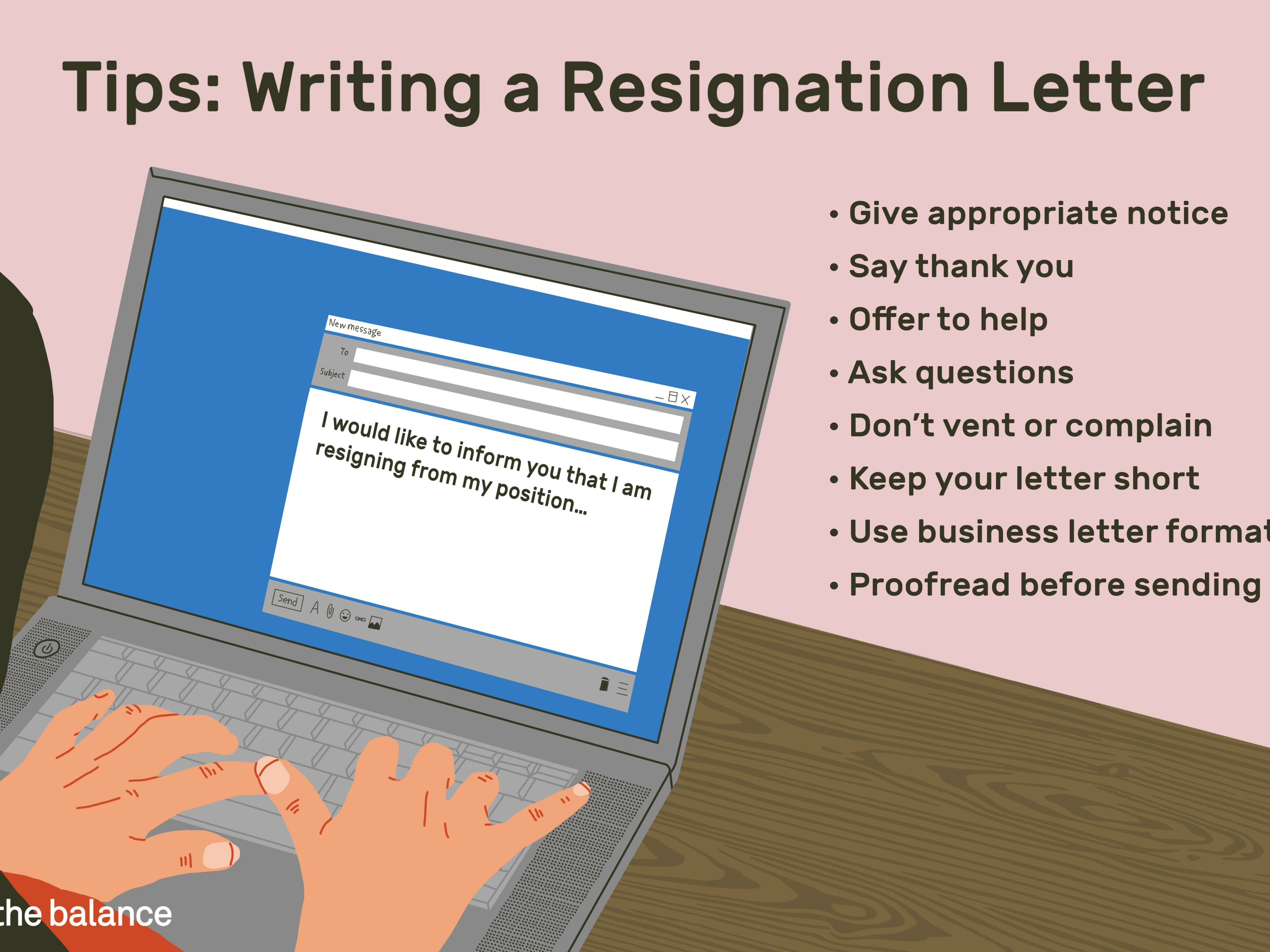 Sample Resignation Letter for Quitting Your Job