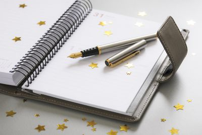 Planner open to New Year