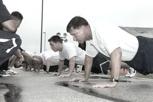 Air Force Pushups