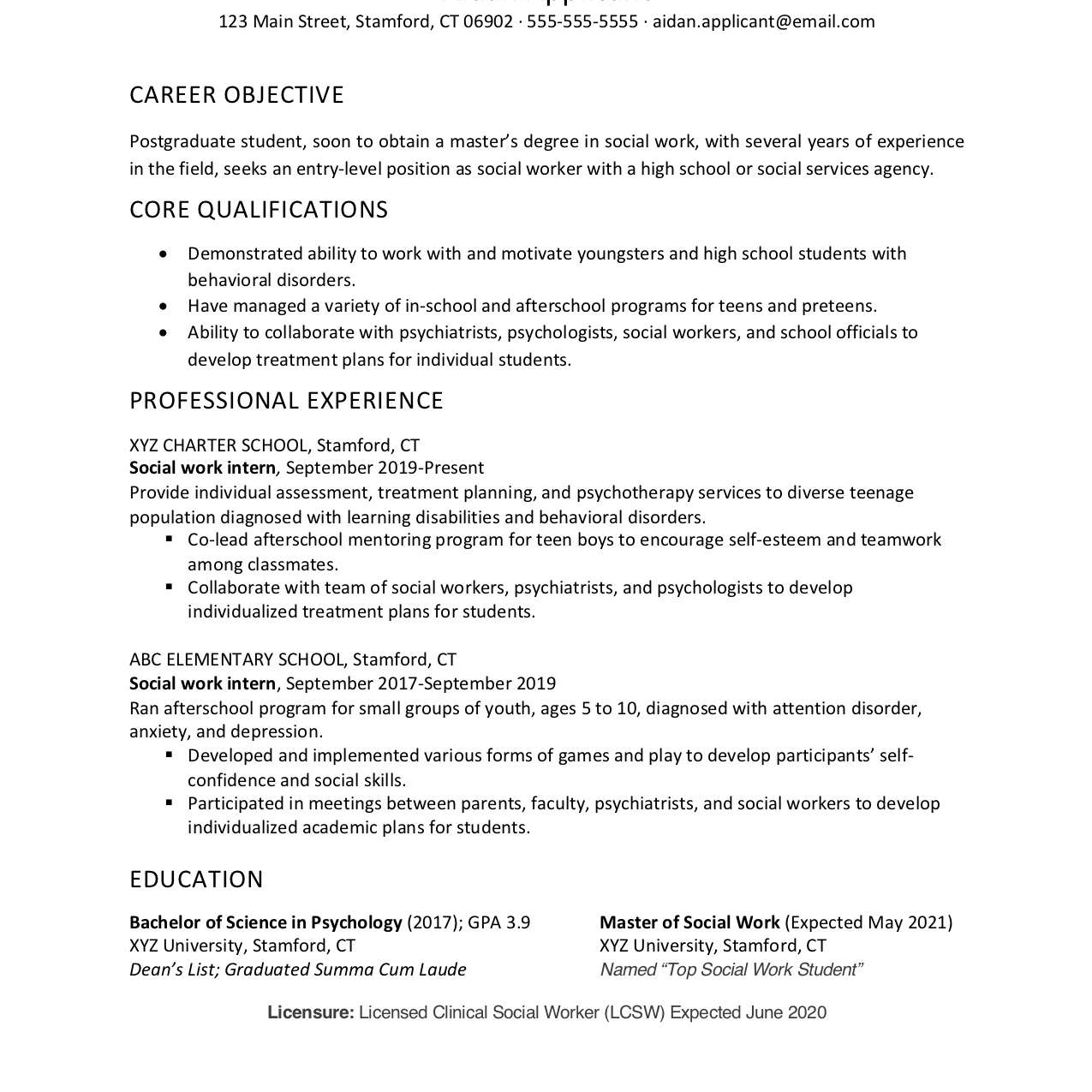 Social Worker Cover Letter Sample No Experience from www.thebalancecareers.com