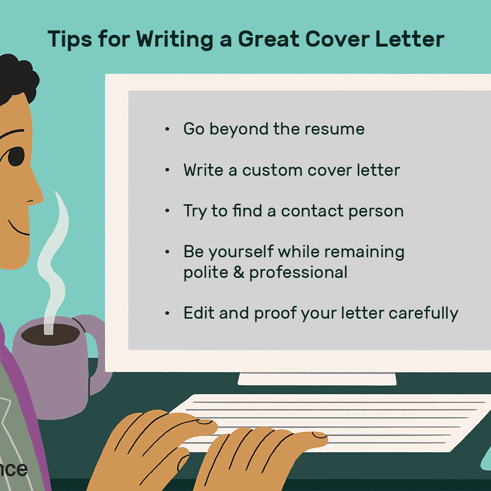 Tips To Write A Cover Letter from www.thebalancecareers.com