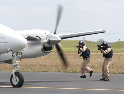 customs and border protection aviation enforcement agent