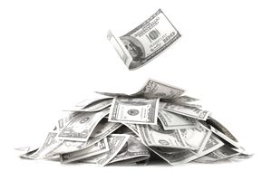 pile of money from a tax abatement