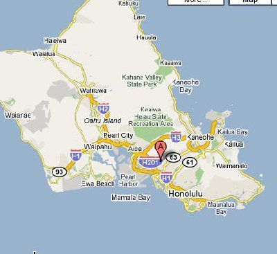 Overview Of Schofield Barracksfort Shafter Hawaii - Map-of-us-army-bases