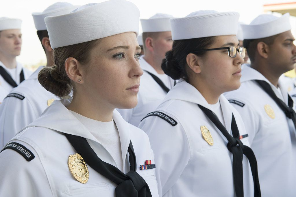 Grooming Standards for Men and Women in the Navy