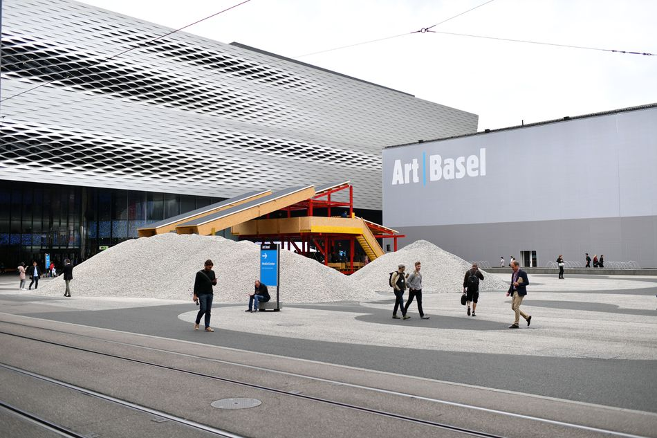 Art Basel at Basel Messe on June 13, 2018 in Basel, Switzerland