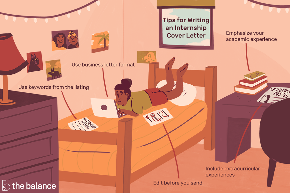 Tips for writing an internship cover letter