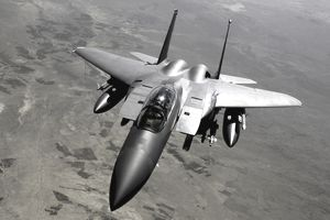 U.S. Air Force F-15E Strike Eagle aircraft