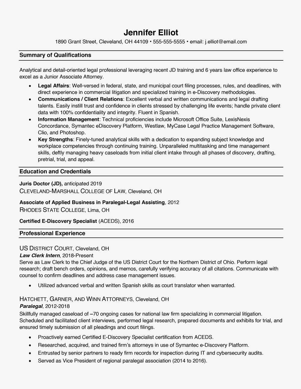 Resume Formats—With Examples and Formatting Tips