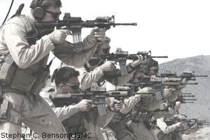 MARSOC Raiders shooting