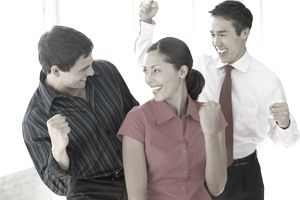 employees displaying the Galatea Effect of self confidence
