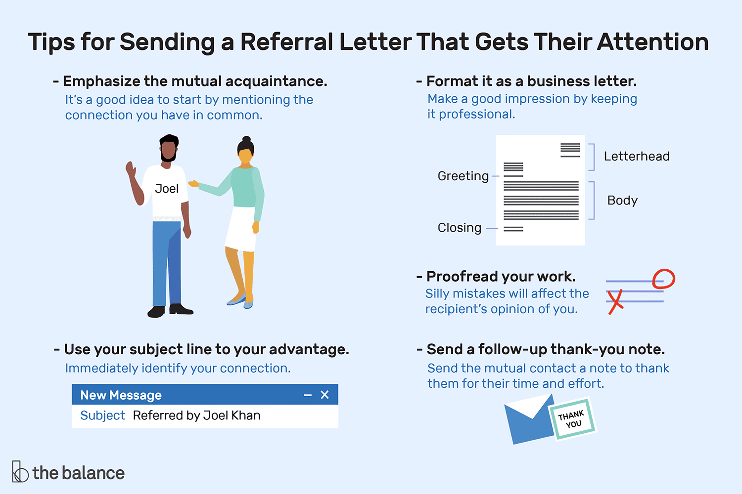 Sample Referral Emails For Career Networking