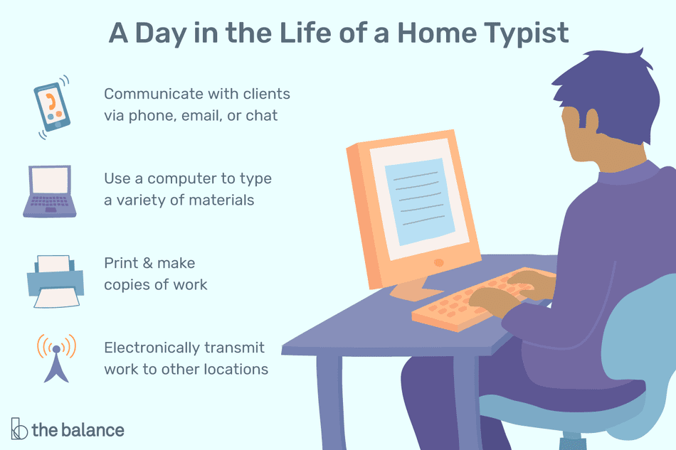 What Does a Home Typist Do?