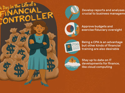 A day in the life of a financial controller: develop reports and analyses crucial to business management; approve budgets and exercise fiduciary oversight; being a CPA is an advantage but other kinds of financial training are also desirable; stay up to date on IT developments for finance, like cloud computing