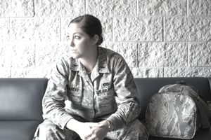 Enlisted Female Airforce Soldier
