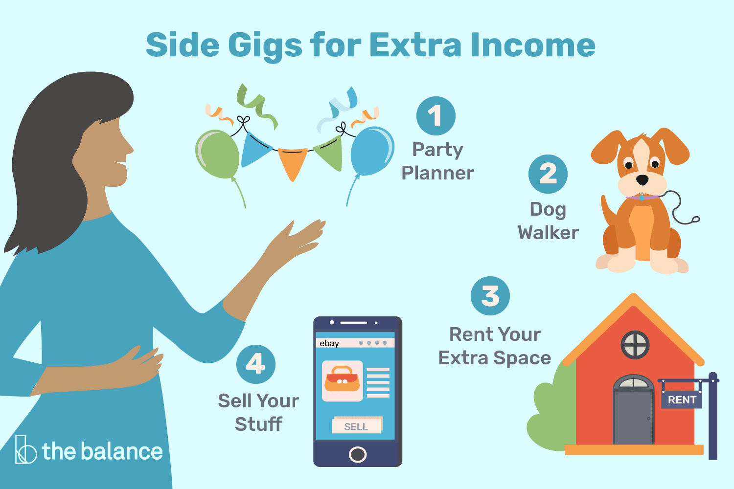 15 Side Jobs to Make Some Extra Money