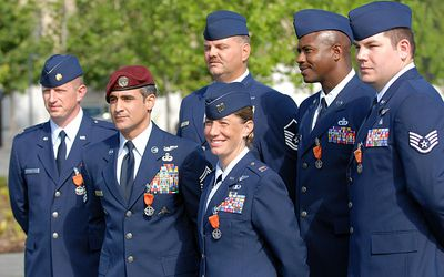 Air Force Dress Appearance And Uniform Standards