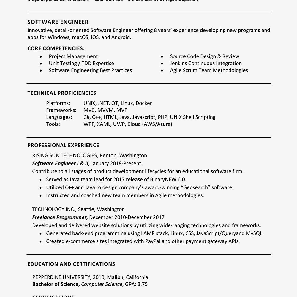 resume qualifications list amitdhull co