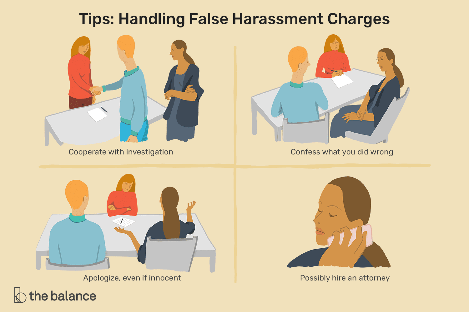 How to Defend Yourself Against False Harassment Charges